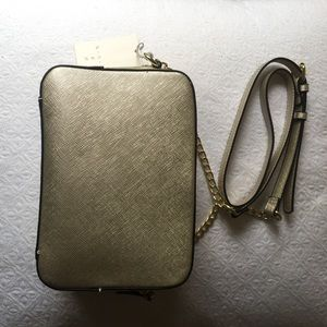 Handbags - New gold crossbody bag